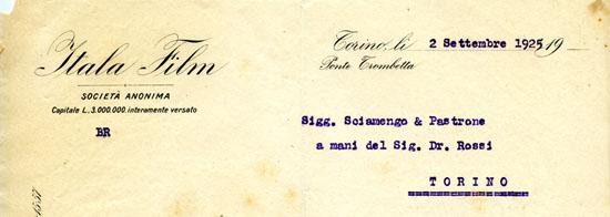 Torino, 2 settembre 1925