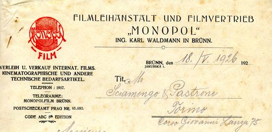 Brunn, 18 IV 1926
