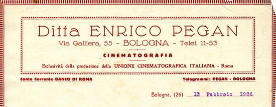 Bologna, 13 Febbraio 1926