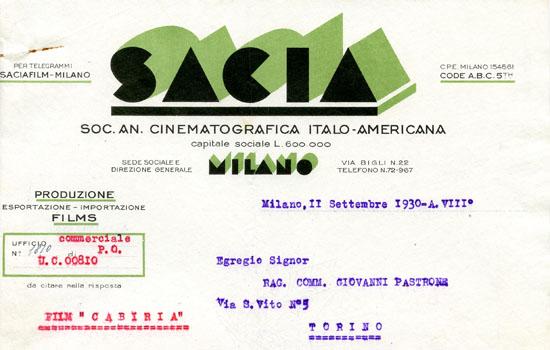 Milano, 11 settembre 1930