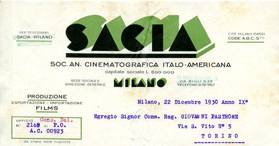 Milano, 22 dicembre 1930
