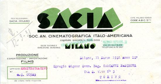 Milano, 11 marzo 1931