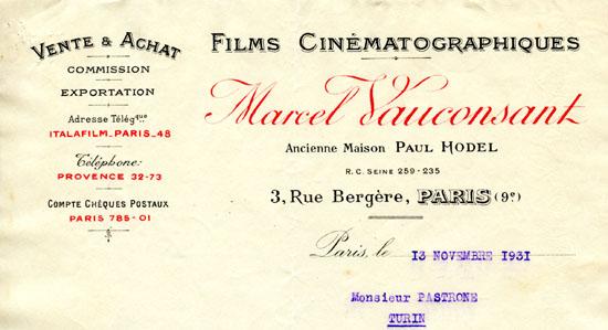 Paris, 13 novembre 1931
