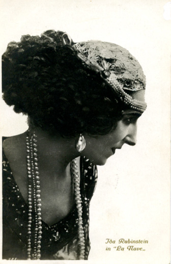 Ida Rubinstein, La Nave (1921)