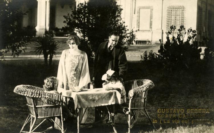 La via del peccato, messa in scena di Amleto Palermi 1924