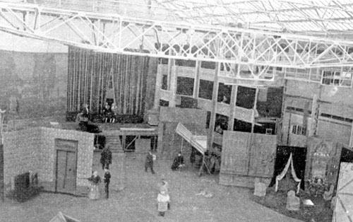 Il teatro di posa