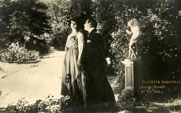 Claretta Sabatelli e Amleto Novelli, Il Voto (1921)