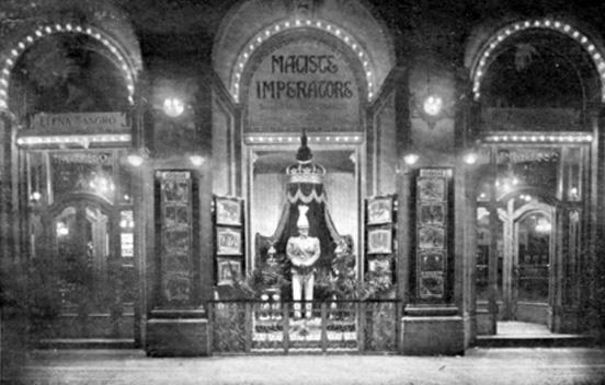 Maciste Imperatore al Salone Ghersi di Torino, novembre 1924.