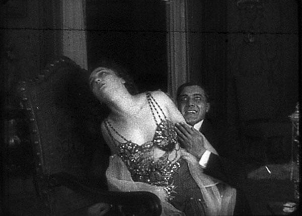 Lyda Borelli, Andrea Habay, La Falena (1916)