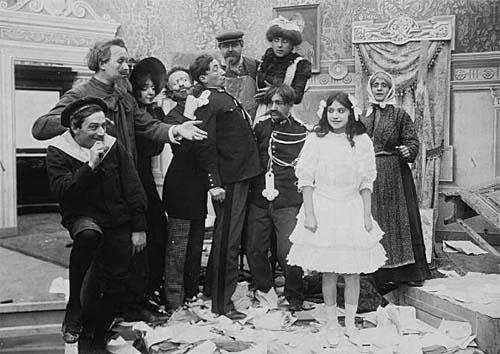 I pantaloni di Cretinetti Itala Film 1909
