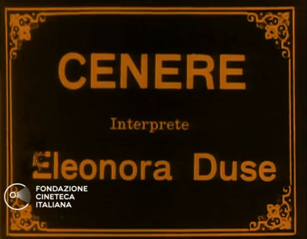 Cenere (1916) Fondazione Cineteca Italiana