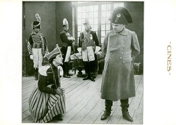 Pina Menichelli e Carlo Cattaneo in Scuola d'Eroi (1914)