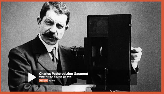 Charles Pathé et Léon Gaumont