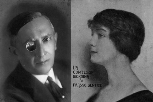 Lucio d'Ambra a la contessa Giorgina di Frasso Dentice