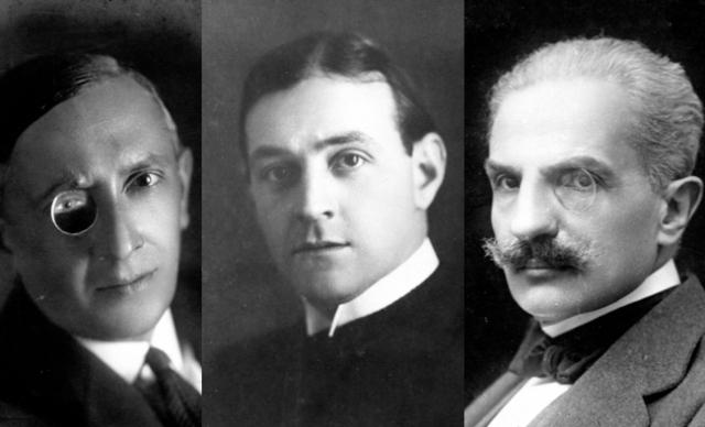 Lucio d'Ambra, Luigi Serventi, Luciano Zuccoli