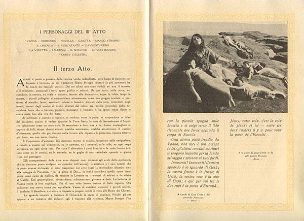 La Crociata degli Innocenti, libretto del film
