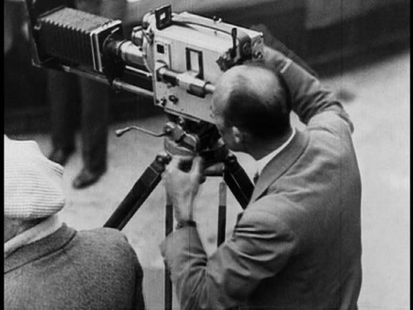 les appareils de prise de vues on tourne Prix de Beauté 1929