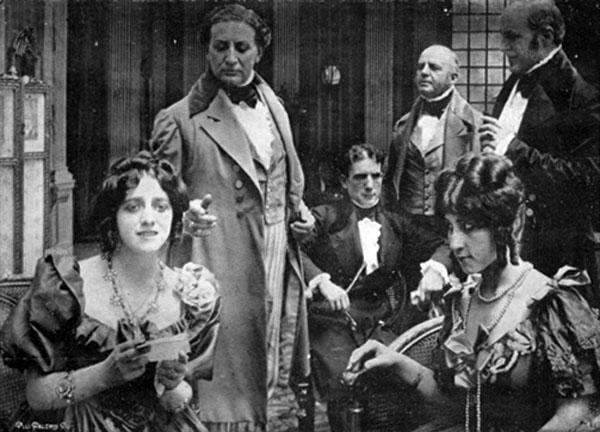 Una scena di Kean (Brune-Stelli 1916)