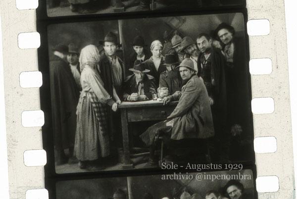 Sole, di Alessandro Blasetti, produzione Augustus 1929