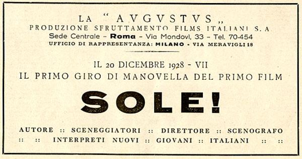 Sole, Augustus 1928