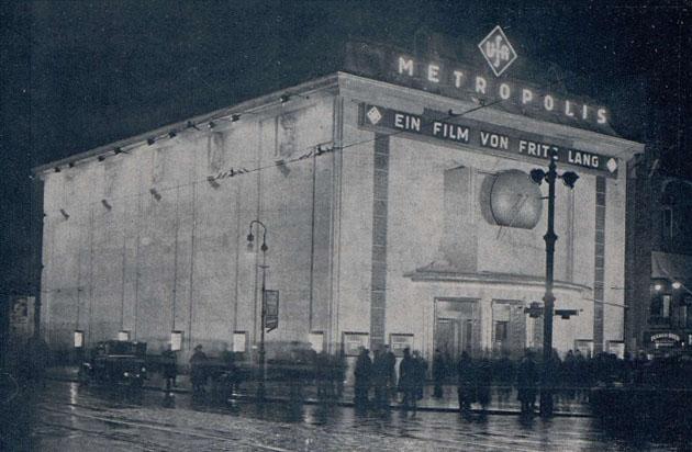 Metropolis U.F.A. Palast Berlino, gennaio 1927