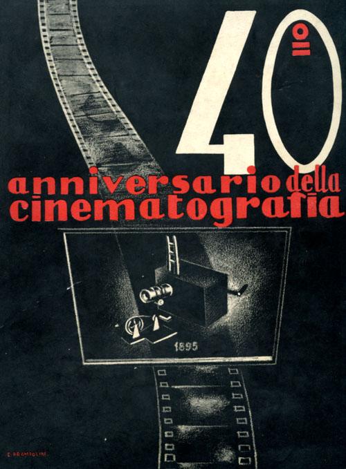 40° anniversario della cinematografia, Roma 1935