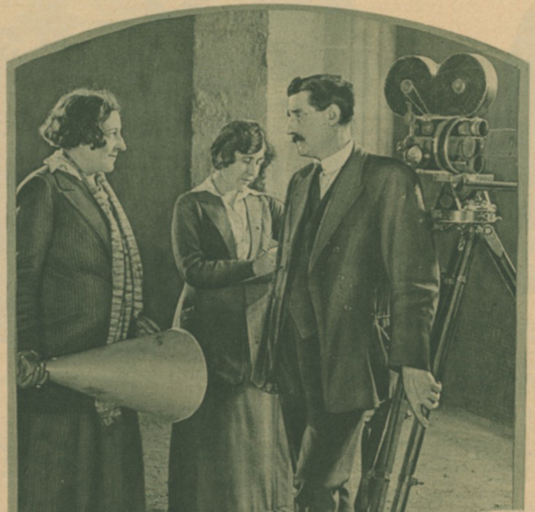 Germaine Dulac au studio