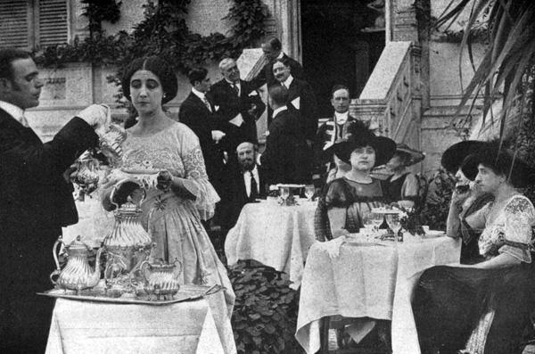 La principessa Sallustio (Leda Gys), La Principessa, Caesar Film 1917