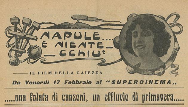 """""""Napule... e niente chiù"""" (1928)"""