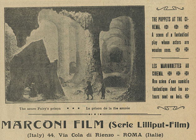 Marconi Film Serie Lilliput Film 1921