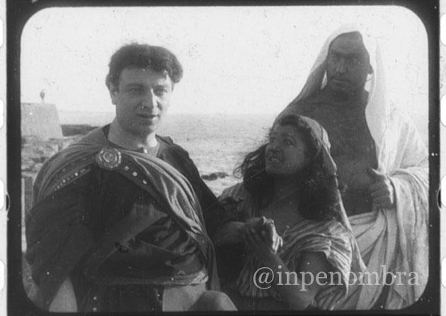 Una scena di Cabiria Itala Film 1914