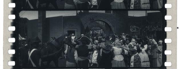 Cinepanoramica Alberini (fotogrammi di madame Tallien di Enrico Guazzoni 1916)