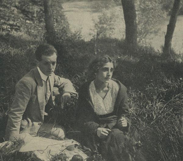 """""""È passata una nuvola"""" (Flegrea Film 1918) soggetto di Nelly Carrère"""
