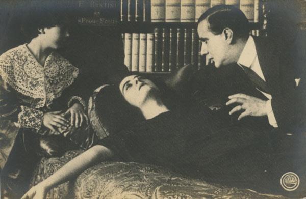 """""""Frou-Frou"""" Bertini Film edición Caesar Film 1918"""