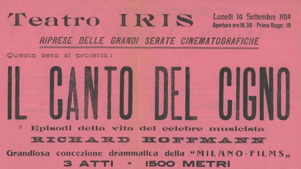 Il canto del cigno Milano Films