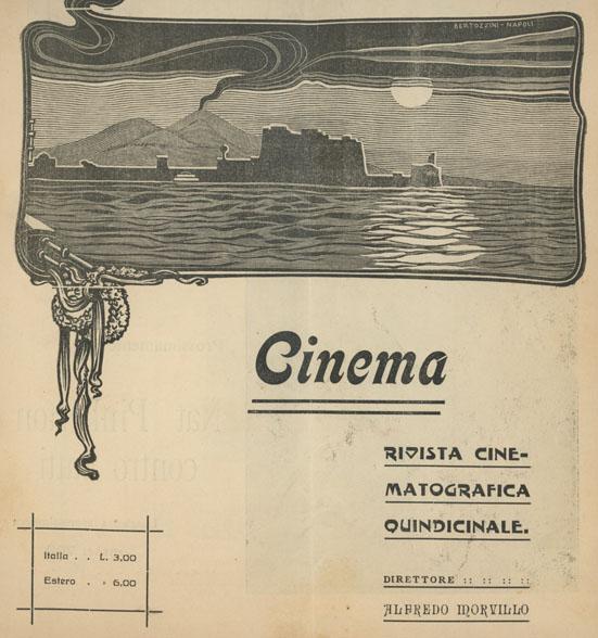Cinema Rivista cinematografica quindicinale, Napoli 1911