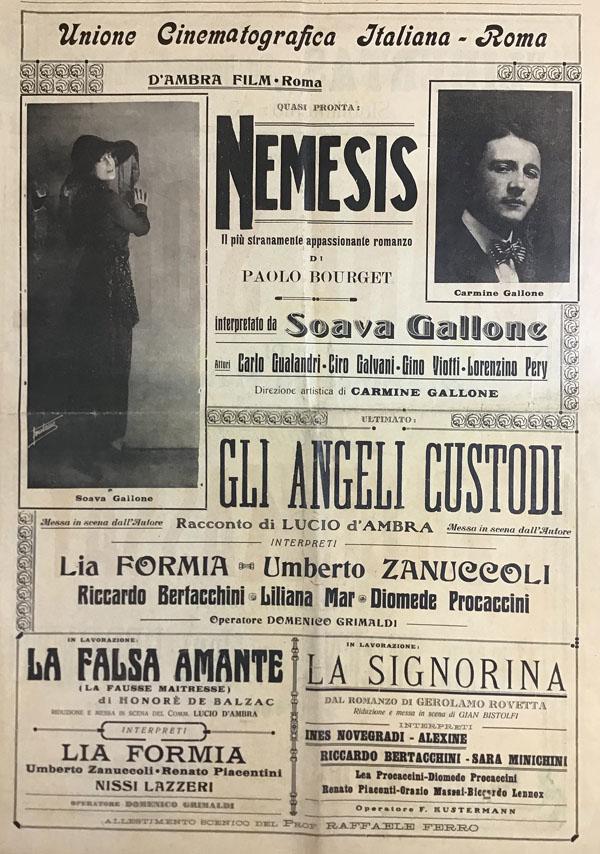 Lucio D'Ambra Film - Unione Cinematografica Italiana