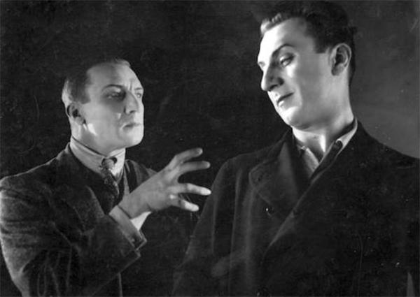 "Ivan Mosjoukine nel film ""Il fu Mattia Pascal"" di Marcel L'Herbier 1926"