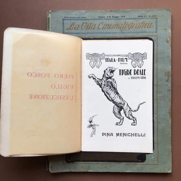 Tigre reale, Itala Film, La Vita Cinematografica, Torino, 7-15 giugno 1916