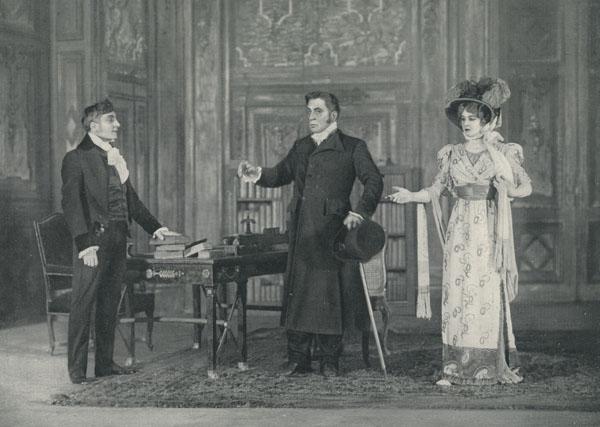 Vidocq de Émile Bergerat, Théâtre Sarah-Bernhardt, Paris 15-05-1910