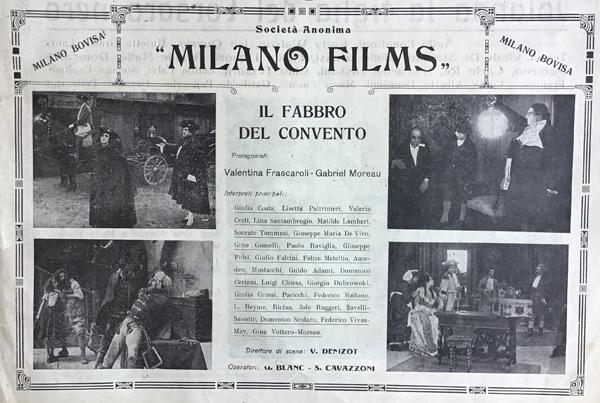 Il Fabbro del Convento Milano Films