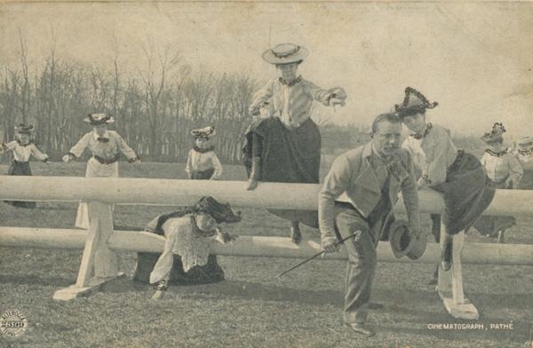 """Dix femmes pour un mari"" (1905) Cartolina Alterocca - Terni"