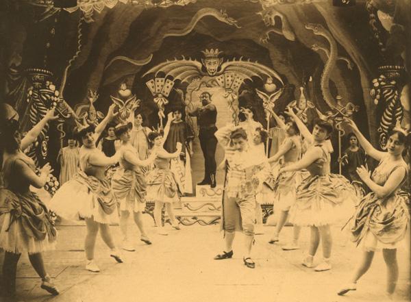 """La Malia dell'oro"" Alberini e Santoni 1905"