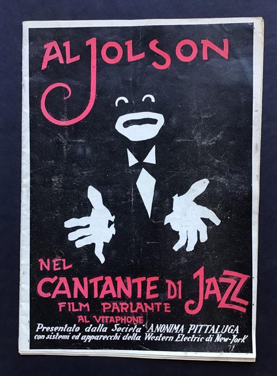 Il cantante di Jazz film parlante al Vitaphone