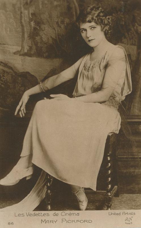 Les Vedettes de Cinéma: Mary Pickford