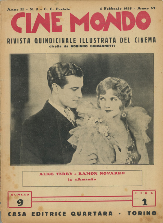 Cine Mondo Torino, 5 Febbraio 1928