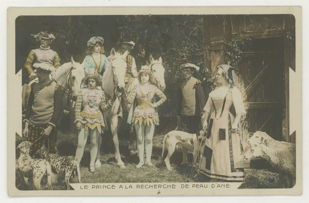 """""""Peau d'Ane"""" (1908) d'après le conte de Charles Perrault. Réalisateur: Albert Capellani, trucages Segundo de Chomón."""